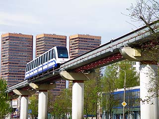 027 Московский монорельс.  Monorail of Moscow. 245k